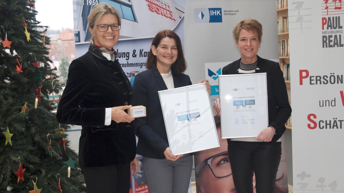 Auszeichnung für Hoffmann und Paul-Winter-Realschule