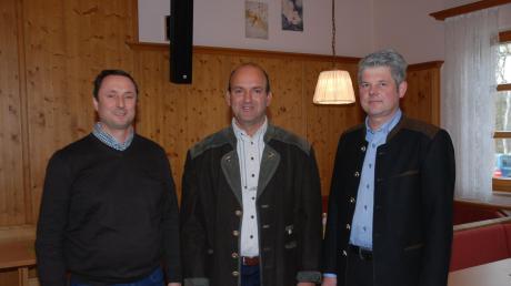 Die Vorsitzenden der Vermehrerverbände freuen sich über die positive Entwicklung bei den Saatkartoffel-Preisen: (von links) Josef Oßwald, SKV Schwaben, Peter Steinherr, SKV Paartal, und Martin Moosheimer, SEV Donaumoos.