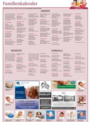 Familienkalender Neuburg KW 17