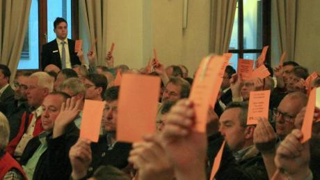 Überwiegend Zustimmung für die Entscheidungen von Aufsichtsrat und Vorstand herrschte bei den Genossenschaftsvertretern.