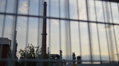 Die Gunvor-Raffinerie bei Ingolstadt.