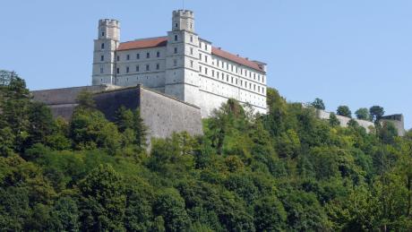 Die Eichstätter Willibaldsburg.