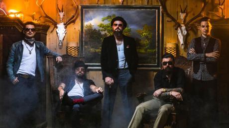 Django 3000 werden am Samstag, 10. August, in Nassenfels zu hören und zu sehen sein.