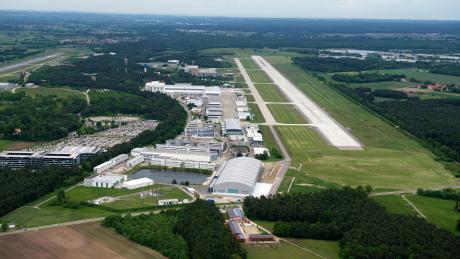 Airbus Defence and Space hat in Bayern unter anderem einen Standort in Manching.