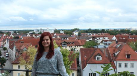 Seit sechs Monaten arbeitet Sonja Falkner als Streetworkerin in Neuburg.