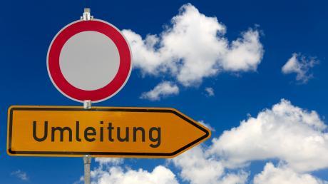 Autofahrer aufgepasst: Wer von Thannhausen nach Edelstetten oder umkehrt fahren möchte, muss bald eine Umleitung fahren.
