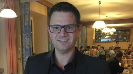 Wird am 15. März in Burgheim gegen den amtierenden CSU-Bürgermeister Michael Böhm antreten: Christian Peters von den Freien Wählern.