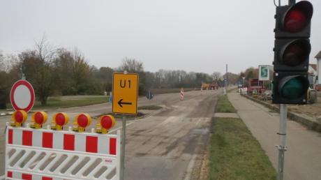 Die Bürger in Ballersdorf und Wagenhofen dürfen aufatmen. Die Sperre der Staatsstraße ist ab heute aufgehoben, der Ausweichverkehr fließt damit nicht mehr über Nebenstrecken.