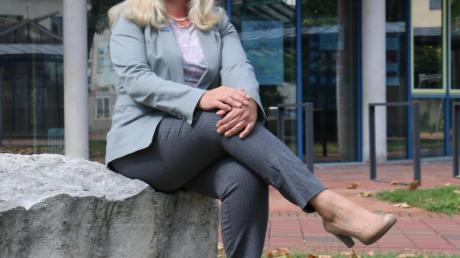 Kreisvorsitzende Christina Wilhelm tritt für die Alternative für Deutschland als Spitzenkandidatin auf der Stadtratsliste an.