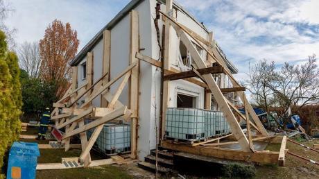 Hat es gekracht, etwa bei der Explosion in einem Haus, rückt das THW an und rettet, was zu retten ist.