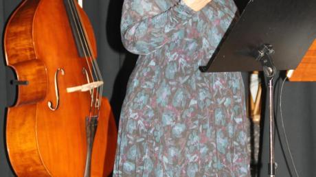 """Sang unter anderem aus """"Figaros Hochzeit"""": Brigitte Clemens."""