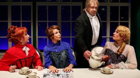 """Das Berliner Kriminaltheater spielt am 5./6. Februar die schwarze Kriminalkomödie """"Fisch zu Viert""""."""