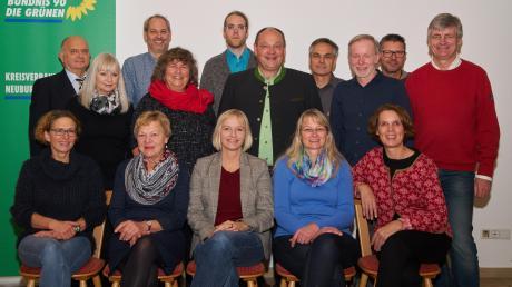 Die Kandidaten von Bündnis90/Die Grünen für den neuen Karlskroner Gemeinderat.