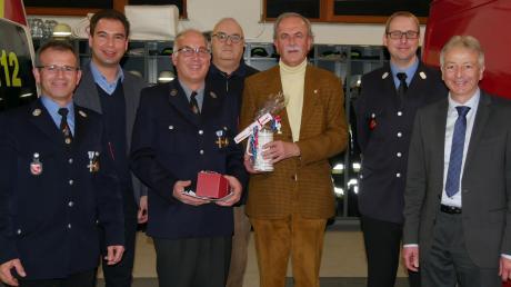 Das Foto zeigt: (von links) Robert Reichart, Matthias Enghuber, Georg Brandstetter, Hans Mayr, Rüdiger Vogt, Peter Zwanzig und Paul Pettmesser.