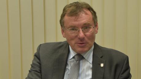 Stellt sich noch einmal zur Wahl: der amtierende Oberbürgermeister Bernhard Gmehling strebt eine vierte Amtsperiode an.