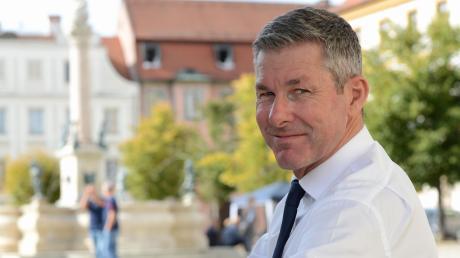 Frank Thonig will Oberbürgermeister in Neuburg werden. Er ist Sprecher und Vorsitzender der Wählerinitiative Neuburg Donau.