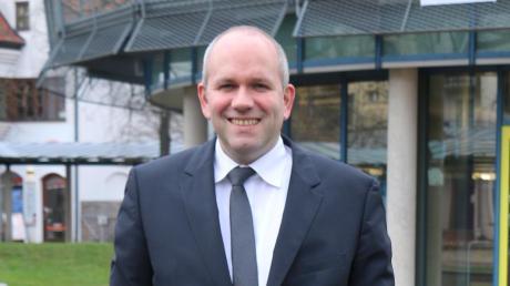 Florian Herold kandidiert für die Freien Wähler als Oberbürgermeister der Stadt Neuburg.