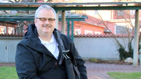 Er kandidiert für die Linken als Oberbürgermeister bei der diesjährigen Kommunalwahl: Michael Wittmair aus Neuburg.