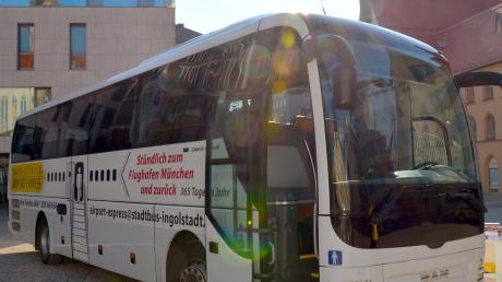Mit ihm geht's zum Flughafen: Immer mehr Fahrgäste nutzen den Ingolstädter Airport Express für ihre Fahrt nach München.