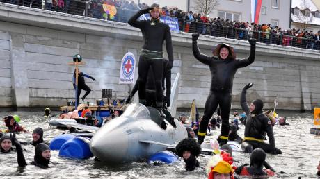 Ein großes Spektakel wird sich am kommenden Samstag wieder auf der Donau in Neuburg abspielen.