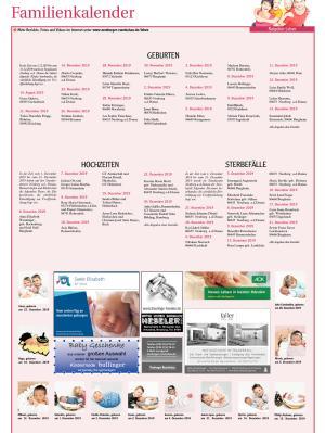 Familienkalender Neuburg KW 4