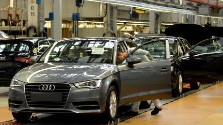 Bei Audi wird die Produktion wegen des Coronavirus heruntergefahren.