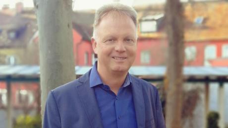 Michael Böhm ist ein Stratege, der die Gemeinde Burgheim vorausblickend entwickeln möchte.