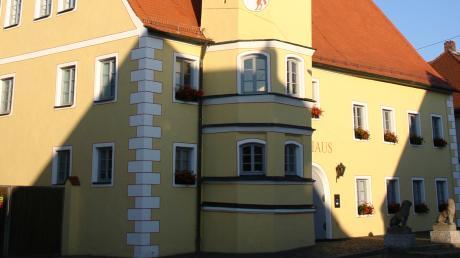 Im Rennertshofener Rathaus tagte der Gemeinderat.