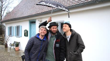 Andreas Weindl, Ulrich Nutz und Bastian Kellermeier sind die Woidboyz. Per Anhalter reisen die Drei durch Bayern.