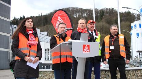 Die IG Metall Ingolstadt will die Schließung des Ledvance-Werks in Eichstätt verhindern.