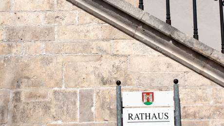 Wegen Corona tagt der Stadtrat in Neuburg momentan nicht.