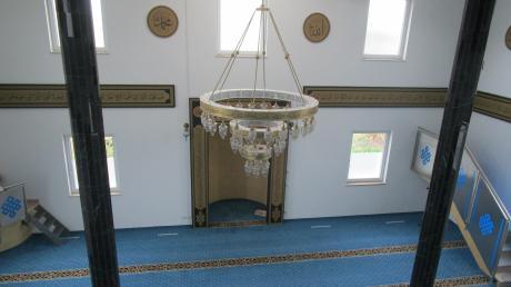 Der Gebetsraum der DITIB-Moschee in Neuburg. Weltweit begehen gläubige Muslime gerade den Ramadan. Am kommenden Samstag endet der Fastenmonat. Das anschließende Zuckerfest wird wegen Corona aber anders ablaufen.