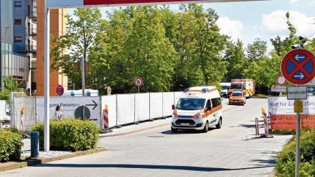 Insgesamt rund 100 Mitarbeiter arbeiten an 365 Tagen im Jahr in der Notfallklinik am Klinikum Ingolstadt.