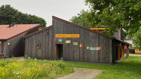 Im Kinderhaus St. Mauritius in Bergheim.