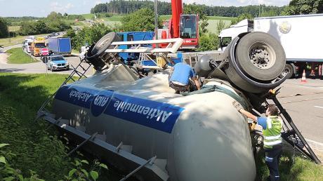 Der 42 Jahre alte Fahrer der Kunstmühle blieb unverletzt.