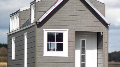 So könnte ein Minihaus aussehen, das voraussichtlich ab nächstes Jahr in Hütting steht.