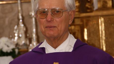 Pfarrer Wagner blieb dem Donaumoos eng verbunden.