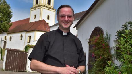 Pfarrer Michael Sauer verlässt Bergheim nach zehn Jahren. Verabschiedet wird er an Maria Himmelfahrt.