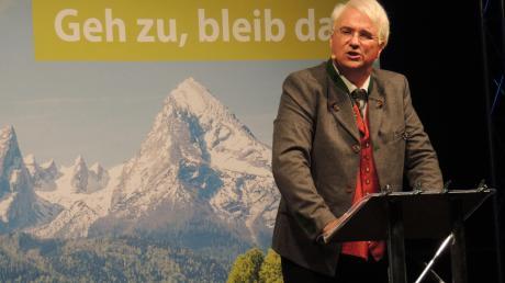 Wolfgang Krebs alias Edmund Stoiber: Die unnachahmliche Redekunst des CSU-Granden bis zur Perfektion zu entlarven, das macht der Kabarattist nach wie vor besonders gerne.