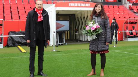 Bernhard Stiedl und Tamara Hübner werden in ihren Ämtern als Bevollmächtigte bei der IG Metall Ingolstadt bestätigt. Die Wahl fand wegen Corona im Audi Sportpark statt. Auch die lokale Wirtschaft war Thema der Veranstaltung.