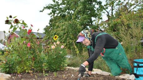 Seit über vier Jahren ist Doris Wandt bereits beim Garten- und Landschaftsbau und ist vor allem mit der Pflege der einrichtungseigenen Außenanlagen betraut. Sie fühlt sich sehr wohl im Kreise ihrer Kollegen und überrascht diese auch gerne mit kleinen Geschenken, beispielsweise zu deren Geburtstagen.