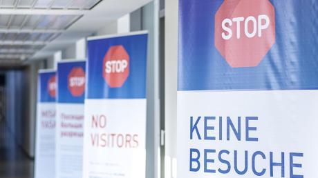 Am Klinikum Ingolstadt gilt wieder ein Besuchsverbot.