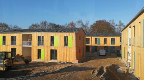 Der Freistaat baut in Oberhausen Sozialwohnungen für anerkannte Flüchtlinge. Ein Drittel davon darf die Gemeinde an Einheimische vergeben.