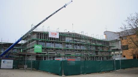 Das neue Schulgebäude ist für Rennertshofen ein großer finanzieller Brocken. Für die Marktgemeinde allerdings sind Kindergarten und Schule eine Voraussetzung für weiteren Zuzug.