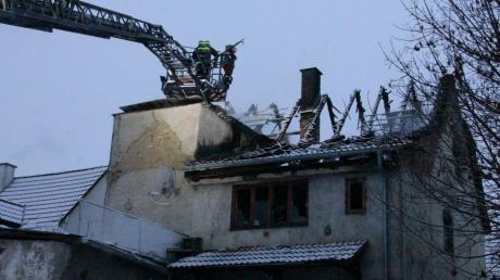 Nach dem Brand eines Einfamilienhauses in Geisenfeld geht die Polizei von einem technischen Defekt als Ursache aus.