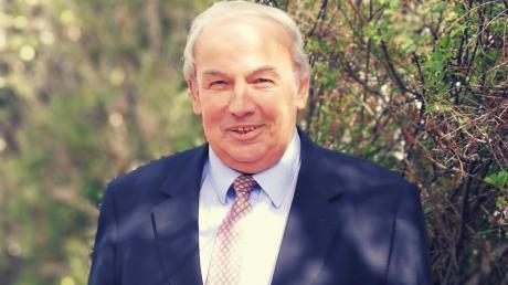 Karl Seitle, kurz vor seinem 70. Geburtstag.
