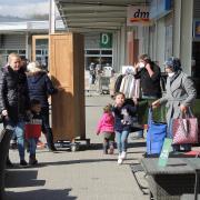 Der Südpark in Neuburg ist Anziehungspunkt für viele Kunden.