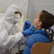 Was Corona angeht, betreibt das BRK bereits ein Test- (Bild) und ein Impfzentrum in Neuburg und Mühlried.