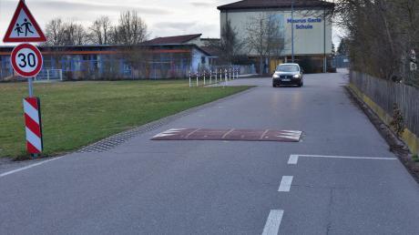 Die Verkehrssituation in der Kindergartenstraße in Karlshuld ist nicht optimal. Der Ferienausschuss befasste sich damit in der jüngsten Sitzung.