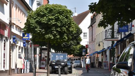Auf eher unbelebte Straßen wird man sich in den kommenden Tagen auch wieder in Neuburg einstellen müssen.